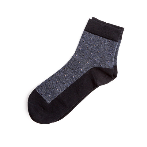 Mid Length Dotted Sock