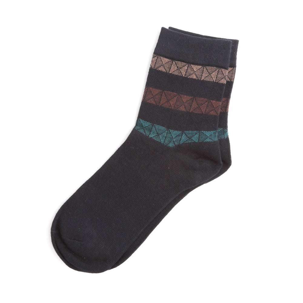 Mid Length Striped Sock