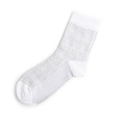 Mid Length Squared Sock