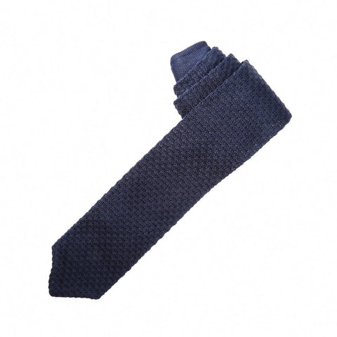 Knitted Navy Blue