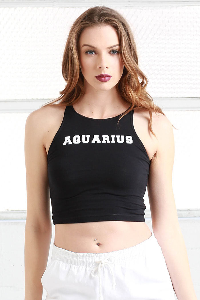aquarius crop top shirt from love by luna