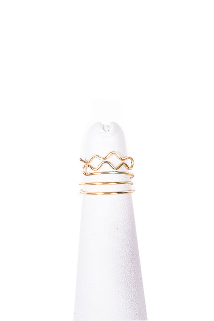 aquarius gold midi ring from love by luna