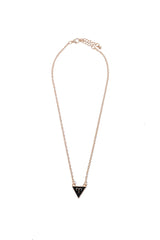 aries gold plated triangle necklace from love by luna
