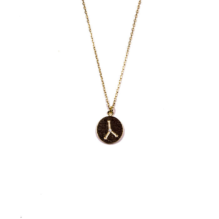 cancer constellation necklace from love by luna