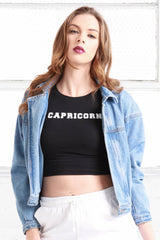 Capricorn Crop Top