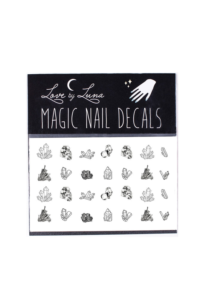 nail decals crystals