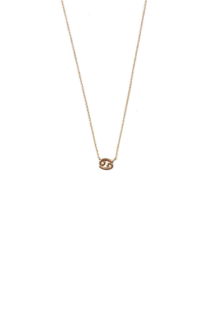 dainty cancer necklace from love by luna