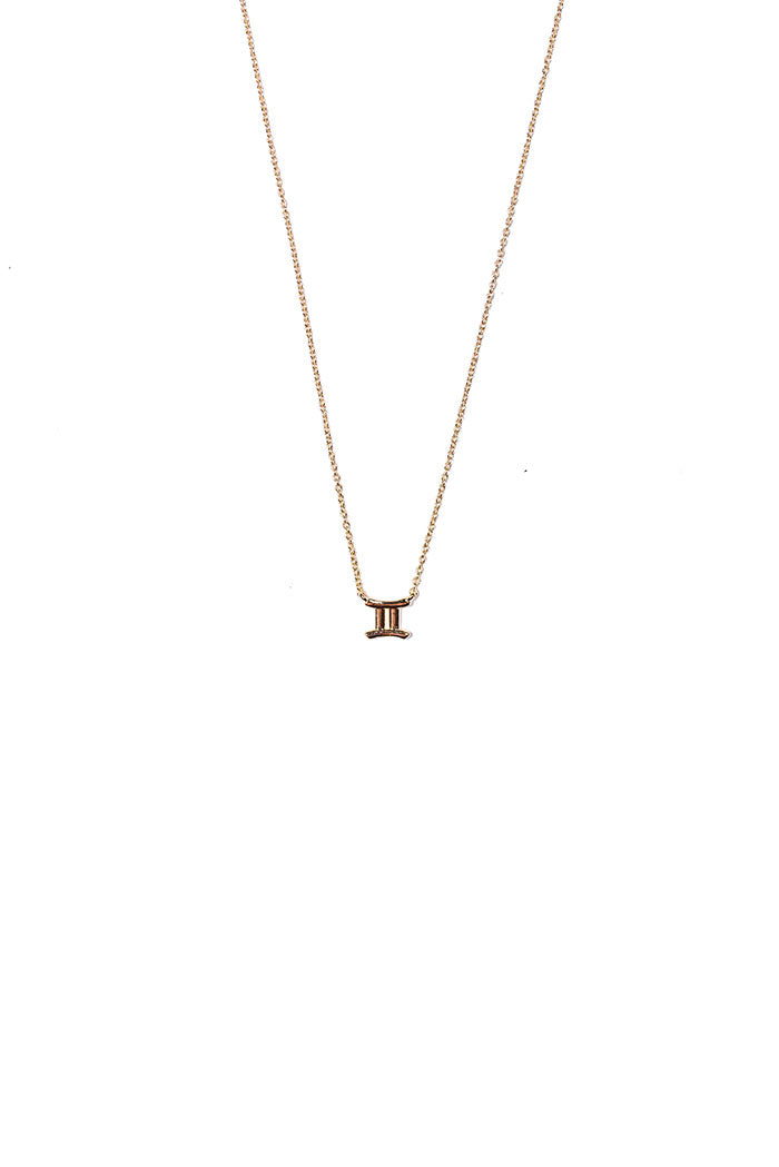 dainty gemini necklance from love by luna