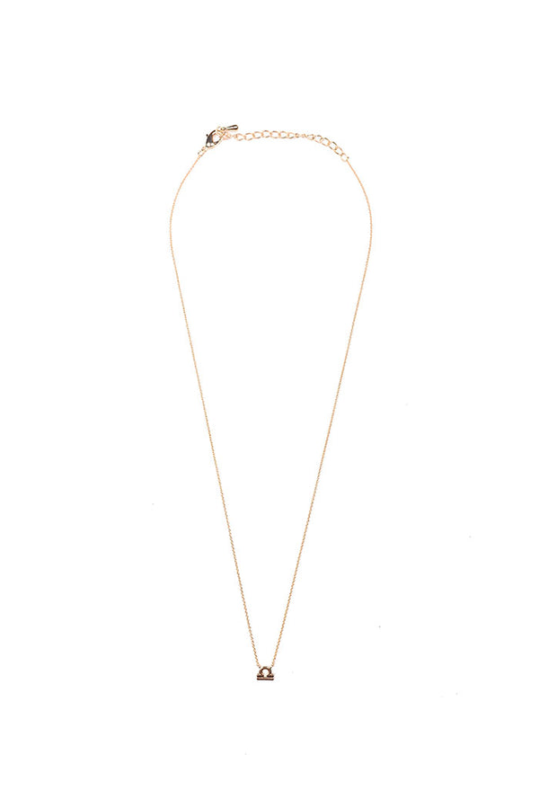 dainty libra necklace from love by luna