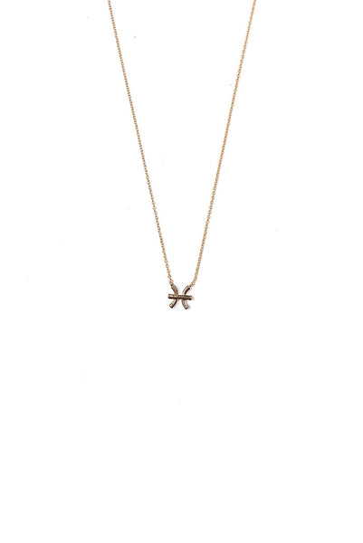dainty pisces necklace from love by luna