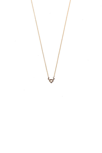 dainty taurus necklace from love by luna
