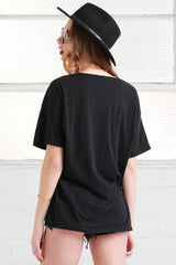 Leo cotton Oversized Tee shirt from love by luna