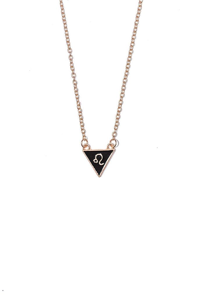 Leo Triangle Necklace from love by luna