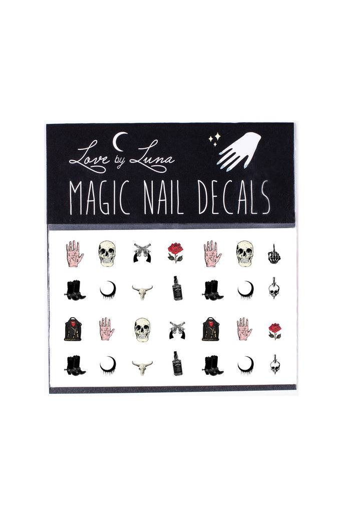 Western Nail Decal Set