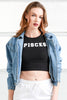 Pisces Crop Top