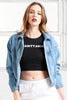 Sagittarius Crop Top