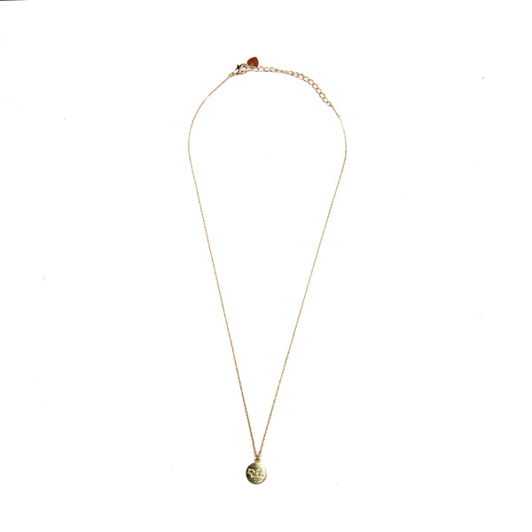 Virgo Coin Necklace