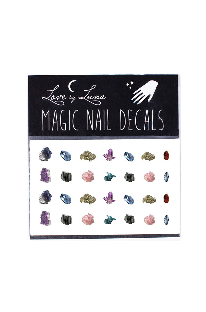 gems nail decals crystals