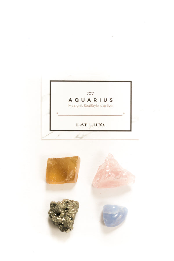 Aquarius Crystal Set