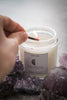 Moon Phase Crystal Candle Set