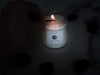 Full Moon Crystal Candle