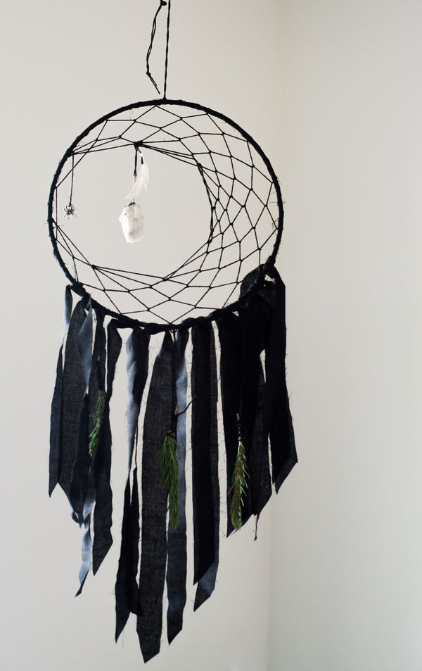 Dreamcatcher Collection - Protection + Intuition Crescent Set