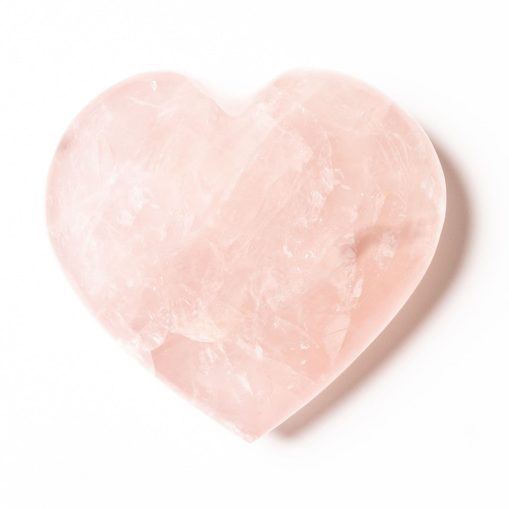 Rose Quartz - Heart