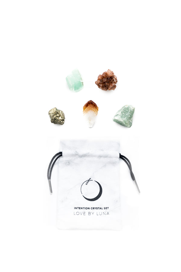 Manifesting Success Crystal Set