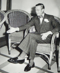 Duke of Windsor in a bow tie