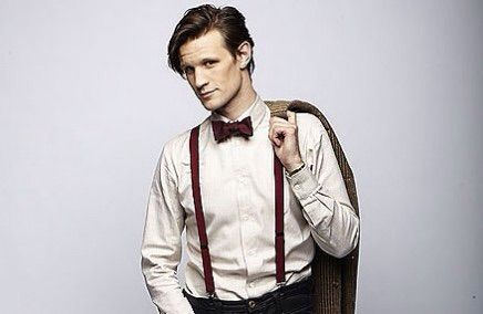 Matt Smith, wearing a bow tie