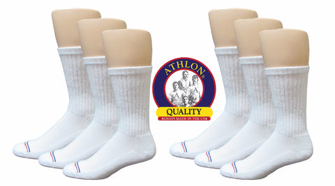 ATHLON® - Men's Cotton Crew Sock