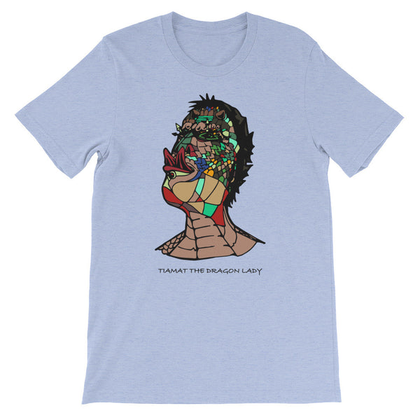 Tiamat The Dragon Lady - Unisex short sleeve t-shirt