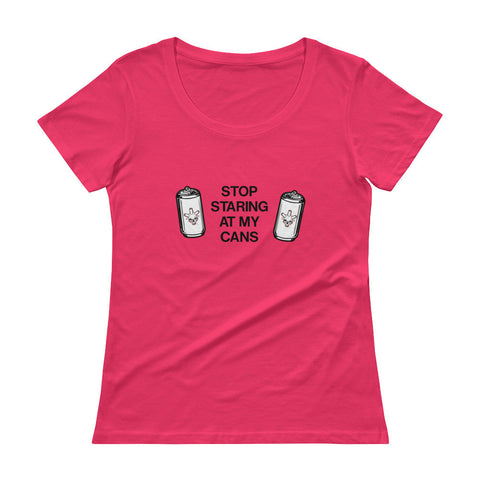 Can Head - Ladies' Scoopneck T-Shirt