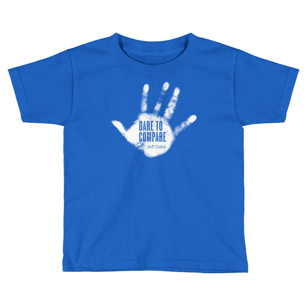 Dare To Compare - Kids Short Sleeve T-Shirt