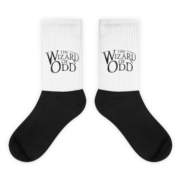 The Wizard Of Odd - Black foot socks
