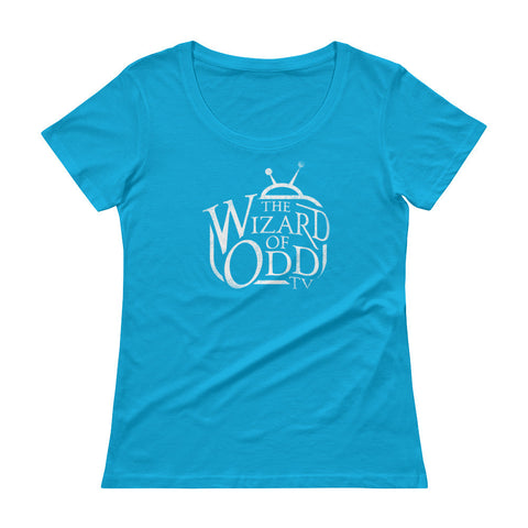The Wizard of Odd - Ladies' Scoopneck T-Shirt