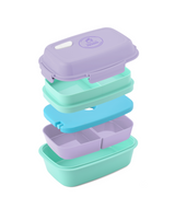 Ultimate Bento Box - Lunch Box for Kids & Adults - 100% Leakproof - Multi Compartment Food Container with Removable Containers and Ice Pack - Microwave & Dishwasher Safe (6 colors)