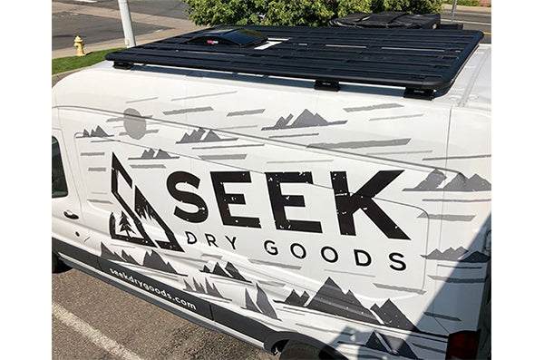 Ford Transit Van Conversion - Roof Rack