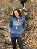 "Seek Dry Goods ""Alpine Lake"" Hoodie Sweatshirt"