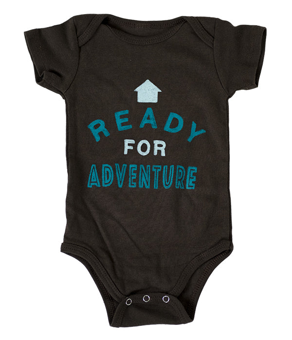 "Infant Seek Dry Goods ""Ready For Adventure"" One Piece"