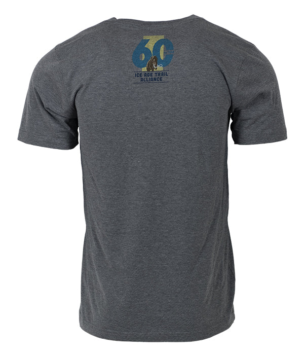 *Limited Edition* Men's/Unisex Ice Age Trail Alliance 60th Anniversary T-shirt