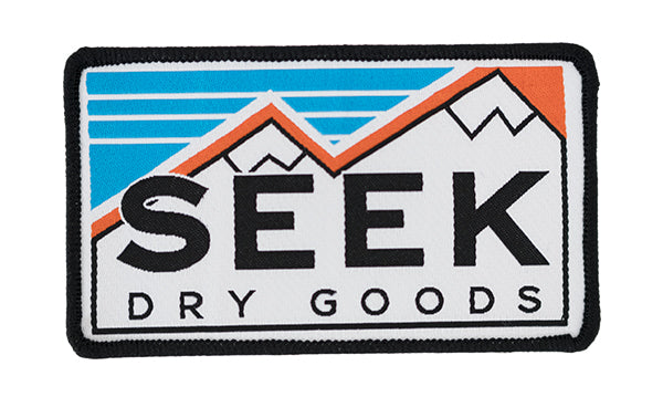 "Seek Dry Goods ""Dual Peaks"" Patch"