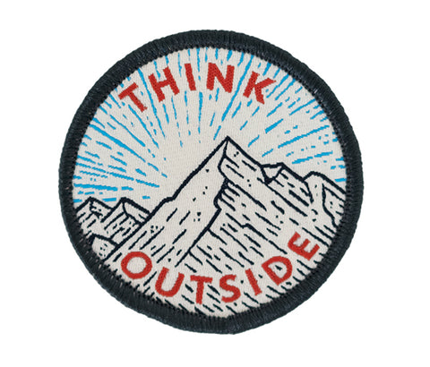"Seek Dry Goods ""Think Outside"" Patch"