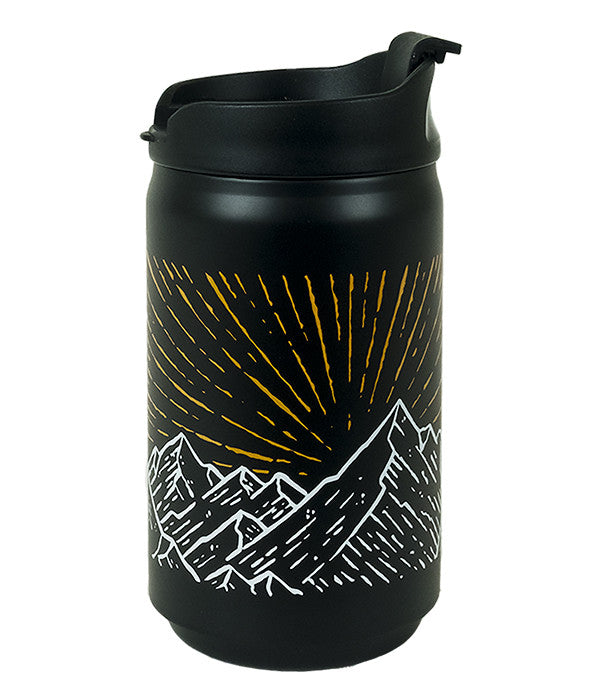 Seek Dry Goods Alpine Glow Travel Coffee And Tea Mug 8 Fl Oz