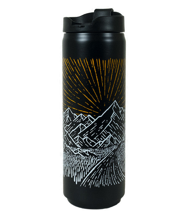 16oz outdoor mountain travel coffee and tea mug 2