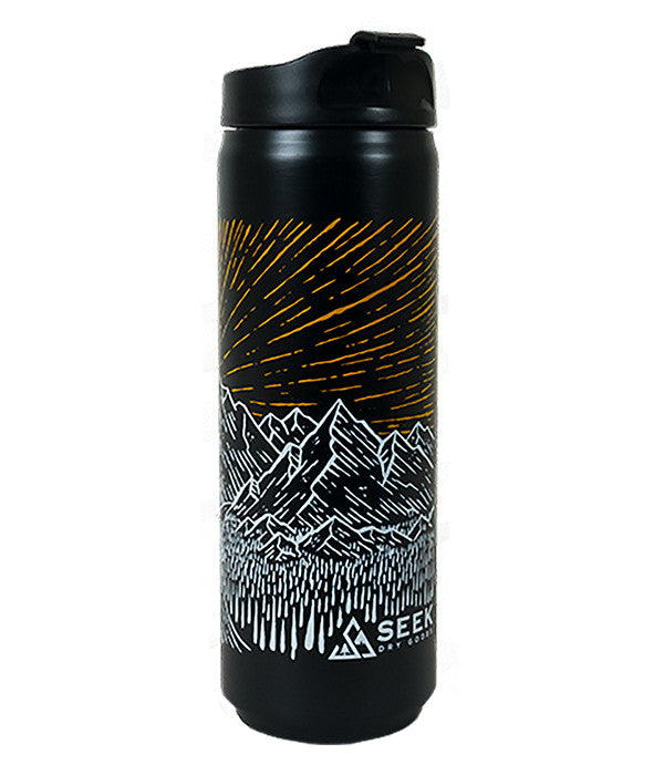 16oz outdoor mountain travel coffee and tea mug 1