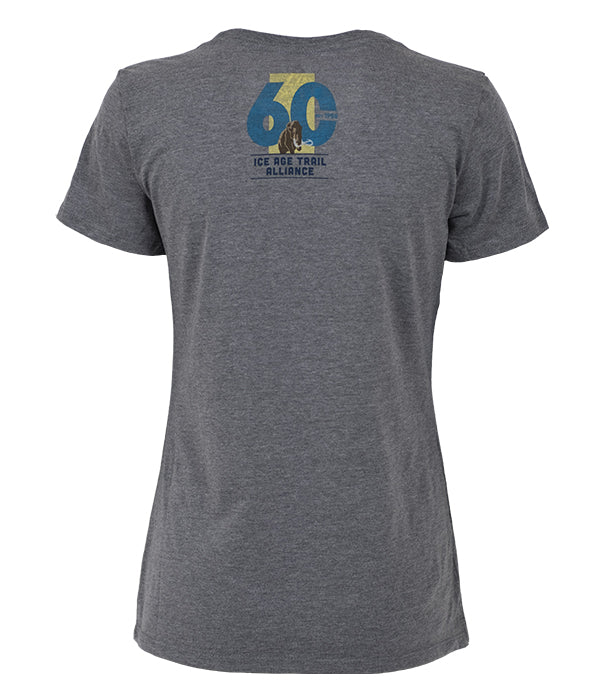 *Limited Edition* Women's Ice Age Trail Alliance 60th Anniversary T-shirt