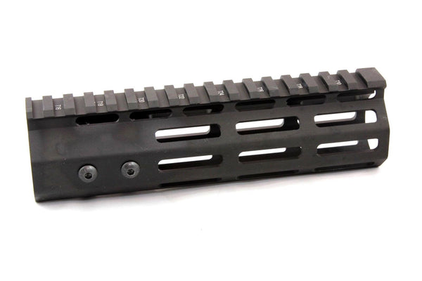 "7"" ULTRA-LIGHT Super Slim MLOK Handguard Free Float AR15 223 5.56"