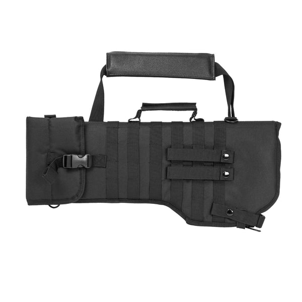 Ncstar Rifle/Carbine Over Shoulder Modular MOLLE Gun Scabbard BLACK