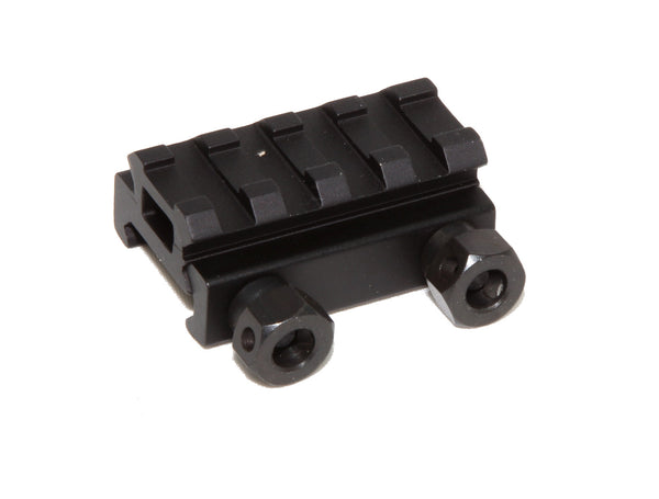 "1/2"" RISER 4-Slot Low Riser WEAVER PICATINNY Scope Mount Rail AR15 223 5.56 - AR15 handguard, Ar15 Free float handguard, Ar10 keymod handguard, Ar10 handguard, Ar15 keymod handguard, Ar15 slim handguard, Ar15 quad rail handguard, Ar15 gas block, Ar15 buffer tube, Ar15 muzzle brake, Ar15 gas tube, Ar 15 handguard, affordable ar 15 free float handguard, AR 15 handguard USA, ar 15 handguard, ar 15 hand guard"